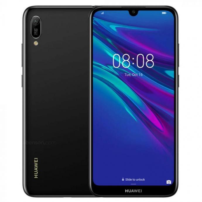 HUAWEI Y6 2019 32GB BLACK ***DO 24 RATE*** GARANCIJA, R1!