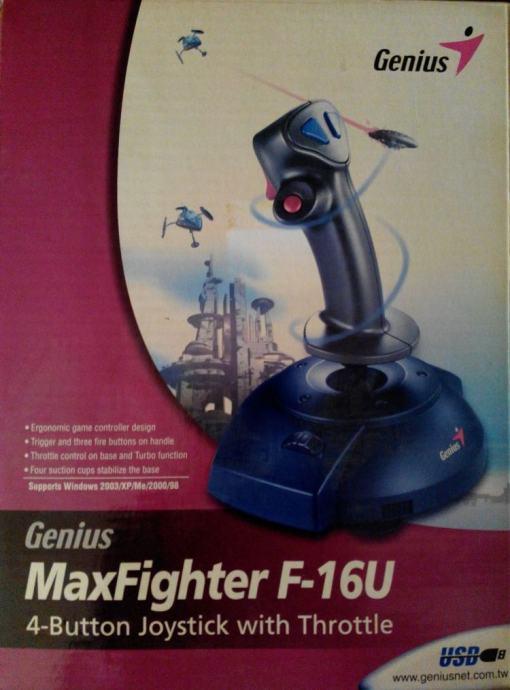 GENIUS JOYSTICK F-16U DRIVER FOR MAC