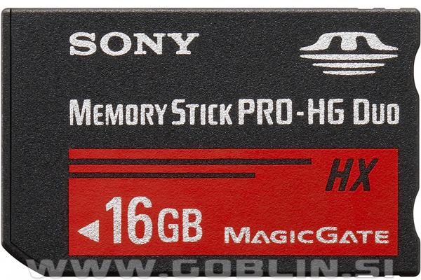 Memory Stick Pro-HG Duo 16GB