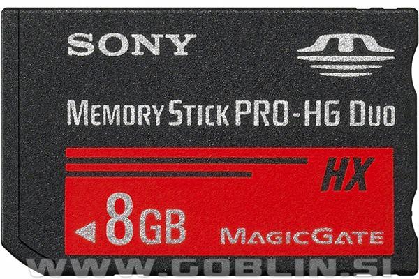 Memory Stick Pro-HG Duo 8GB