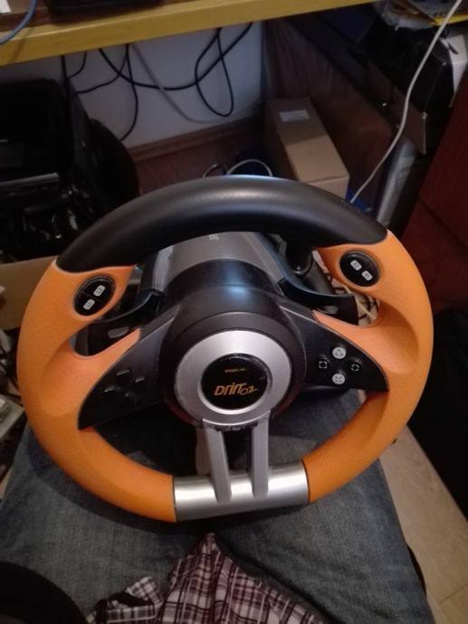 Speedlink Drift oz volan + papučice