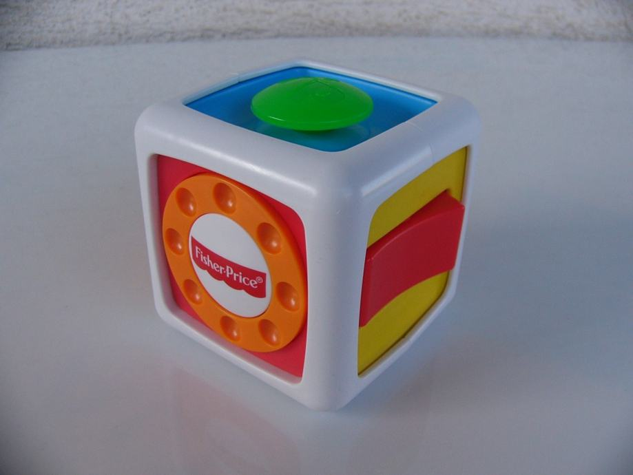 FISHER PRICE Fidget box - didaktićka igračka