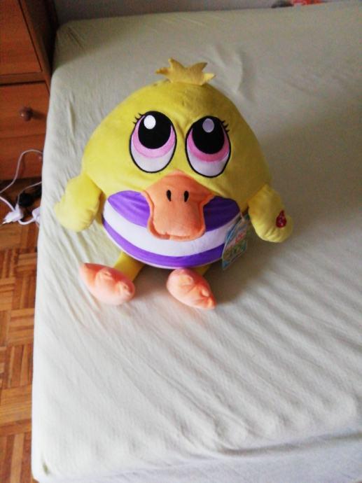 glasovna igračka patka 30cm nova