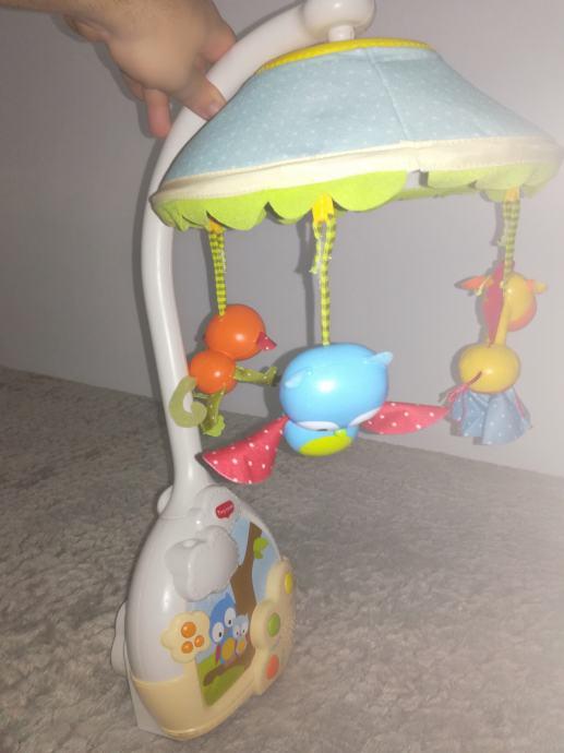 Vrtuljak Tiny Love za bebe ( +guralica na poklon)