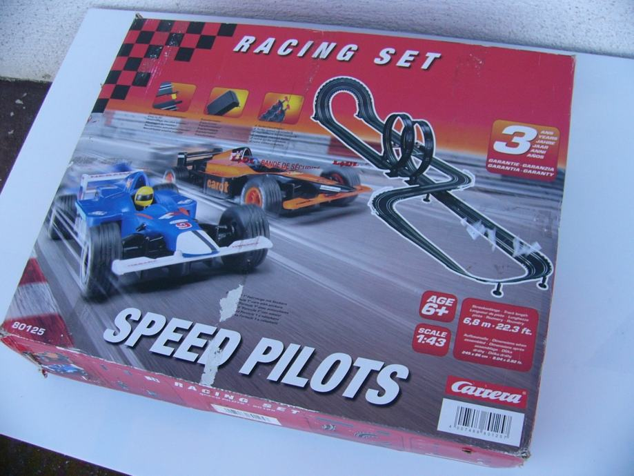 Carrera SPEED PILOTS staza za trkace autice