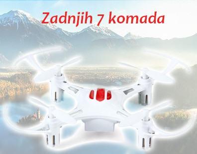 NOVO!!! Dron Letjelica za početnike i djecu! Ostalo još samo 7 komada!