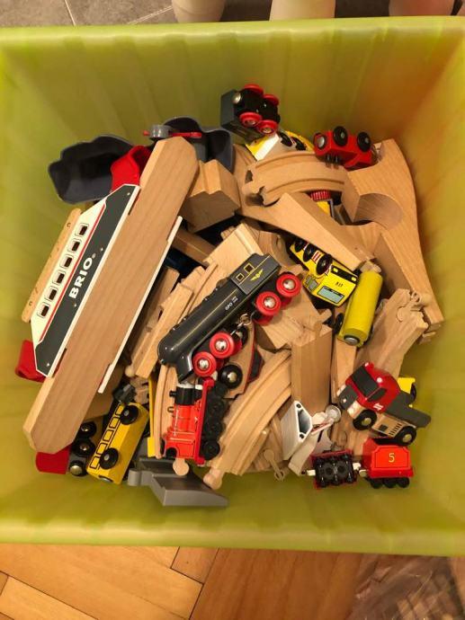 BRIO drvene igračke i IKEA set