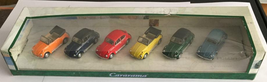 Cararama 1:72  set od 6 komada VW