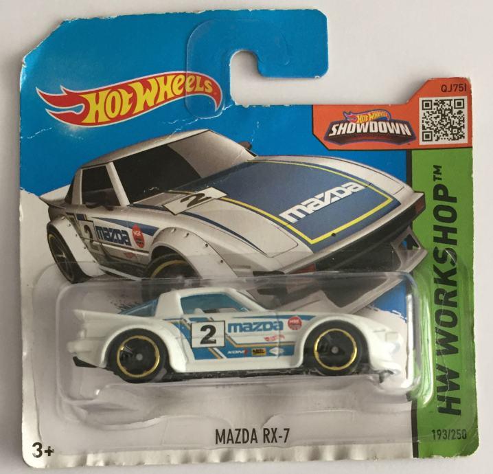 Hot Wheels Mazda RX-7 (2015)