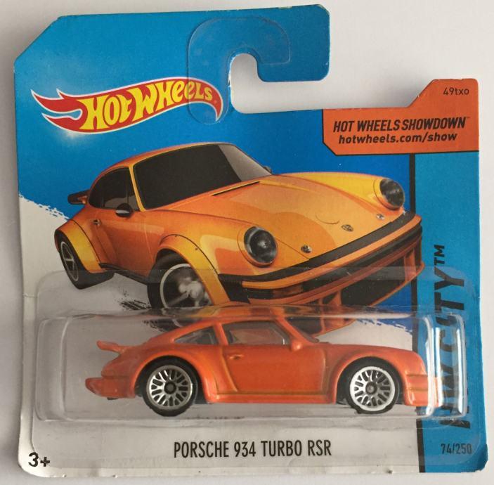 Hot Wheels Porsche 934 Turbo RSR (2015)