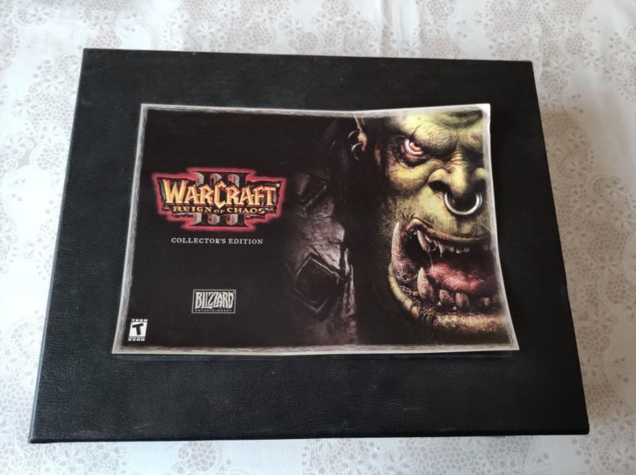 Warcraft 3 collectors edition