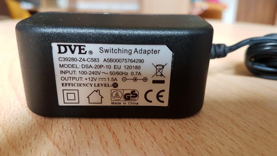 Adapter 12V - 1,5A