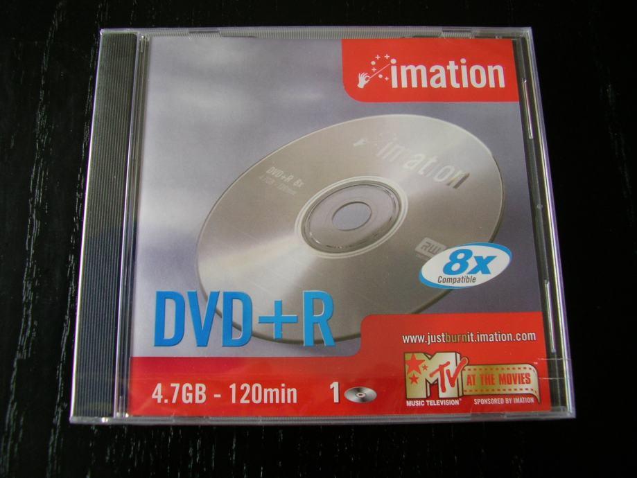 DVD+R mediji 4.7GB/120MIN (Lot od 6 kom)