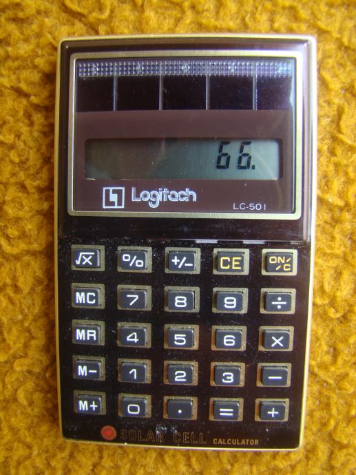 Logitech LC-50 I - Stari solarni digitron