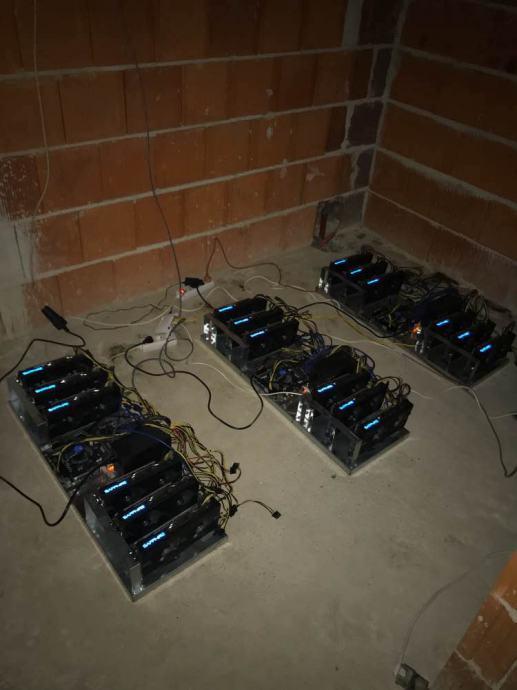 MINING RIG SAPPHIRE RX580  4GB 5.000kn kom