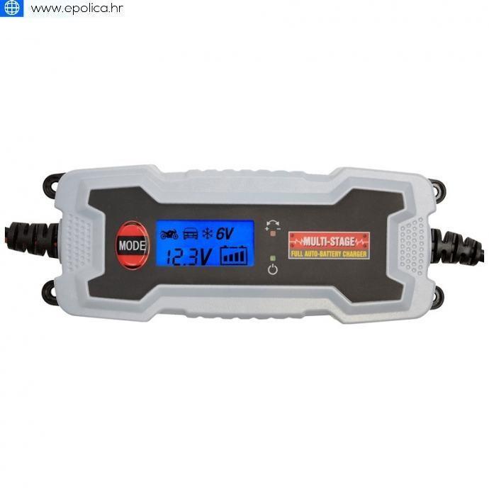 Punjač akumulatora, pametni , automatski, 6-12 V, 1.2