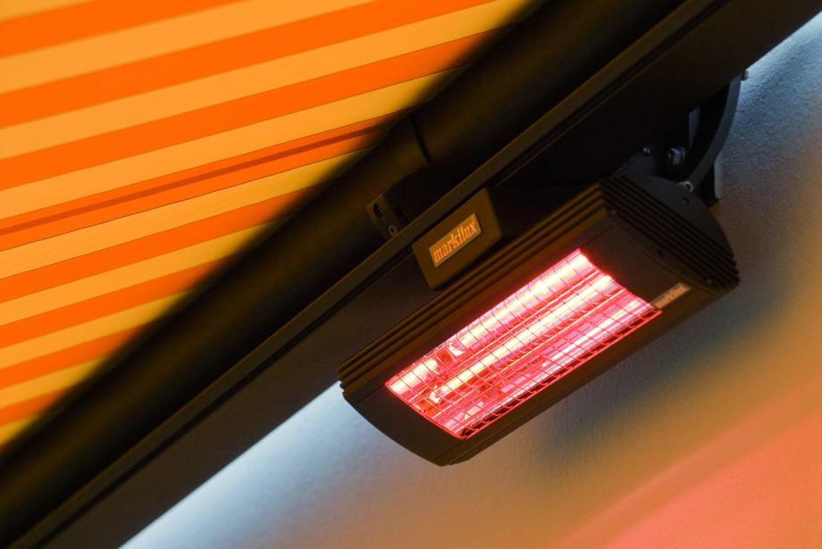 Infracrvene grijalice grijalica SOLE 650-2000W sa daljinskim za kafiće