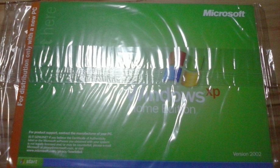 Windows XP original licenca professional edition