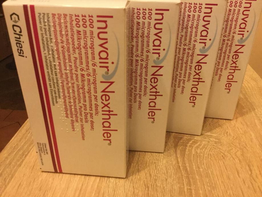 Inuvair ( Foster) Nexthaler inhalator