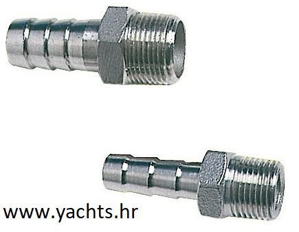 """Priključak muški inox AISI316 3/8"""" x 11mm - 17,00 kn (akcijska cijena)"""