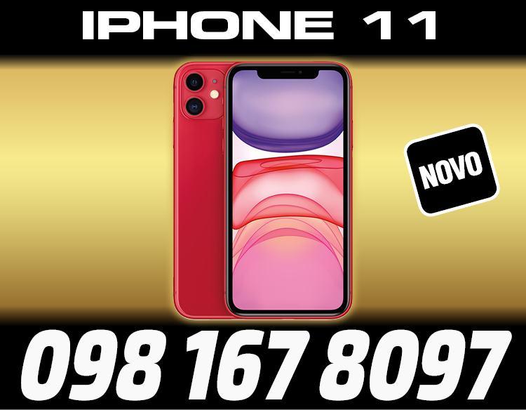 IPHONE 11 256GB CRVENE BOJE,ZAPAKIRANO,TRGOVINA,DOSTAVA ZG,R1
