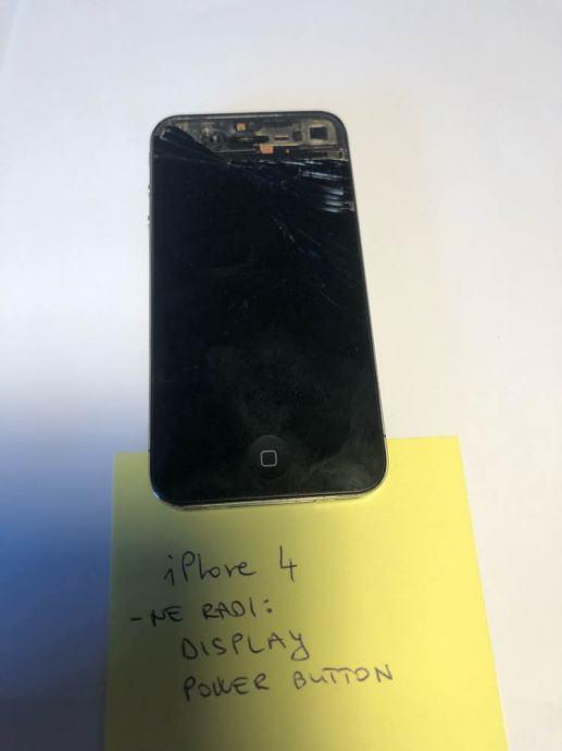 iPhone 4 - neispravan