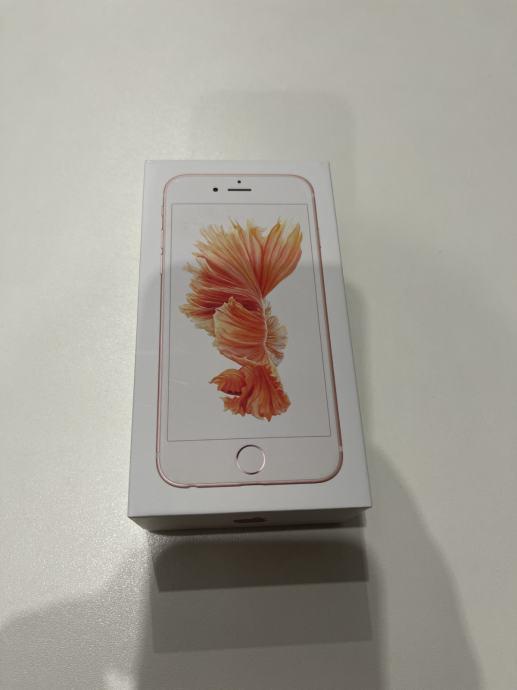 Iphone 6S, 16GB, Rose Gold + maska