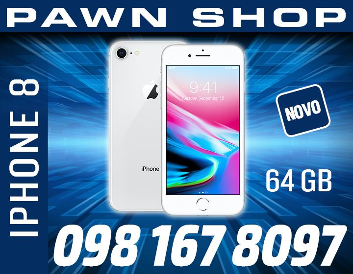 IPHONE 8 PLUS 64 GB SILVER BOJE,KAO NOV,TRGOVINA,GARANCIJA,R1 RACUN