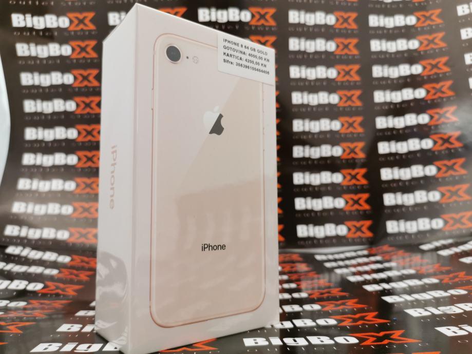 """iPhone 8 """"64Gb"""" GOLD [NOVO] - Jamstvo/12 mjeseci"""