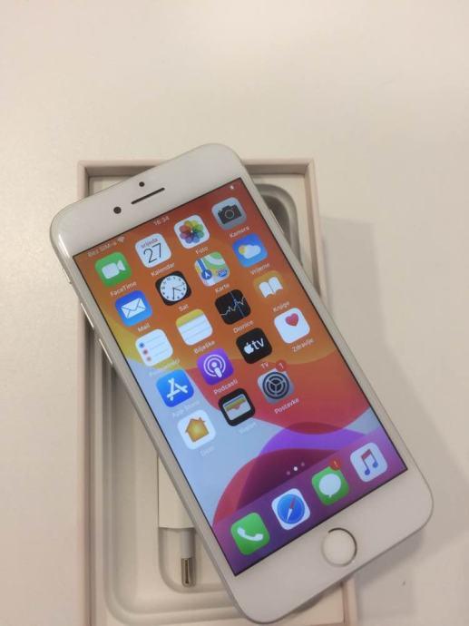 iPhone 8 64GB Silver Sve Mreze Garancija Dostava
