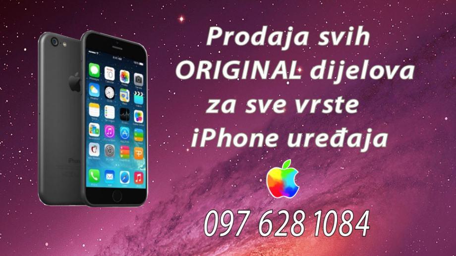 SVE ZA IPHONE 4,4S,5, 5S,5C,6, 6 Plus 6S,6S+,7,7+ 8,8+ Sve je ORIGINAL
