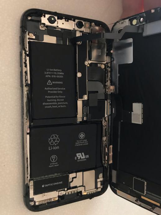 iPhone X dijelovi