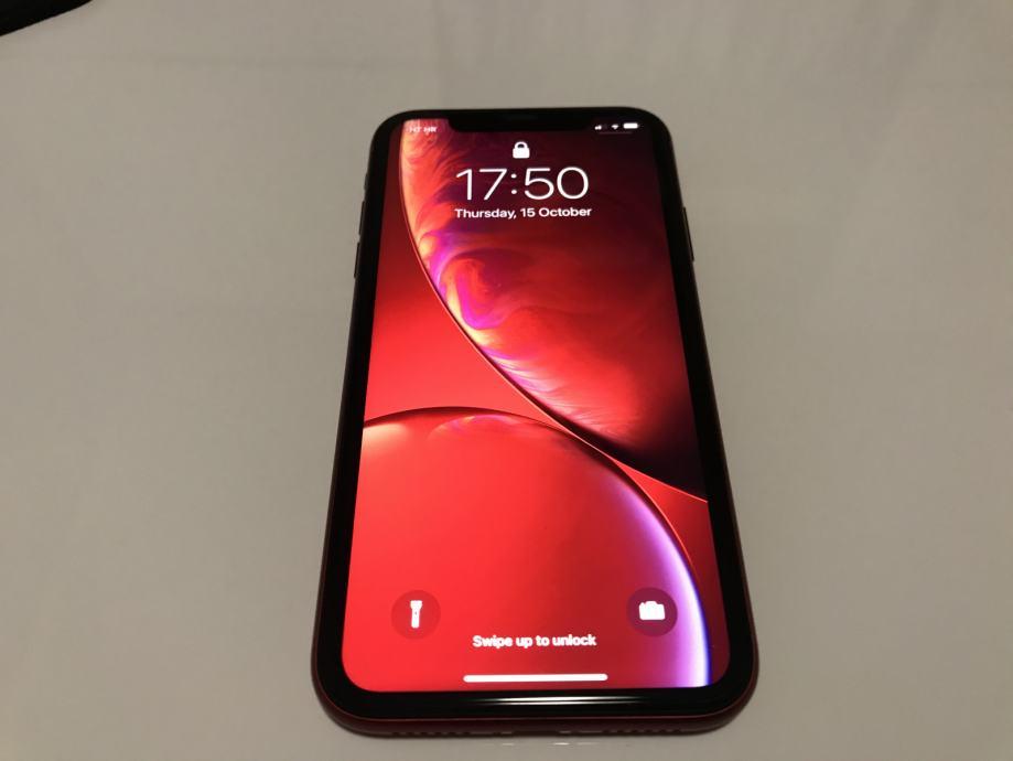 iPhone XR 64GB (Product Red) u izvrsnom stanju 9/10 - 1.5 god star