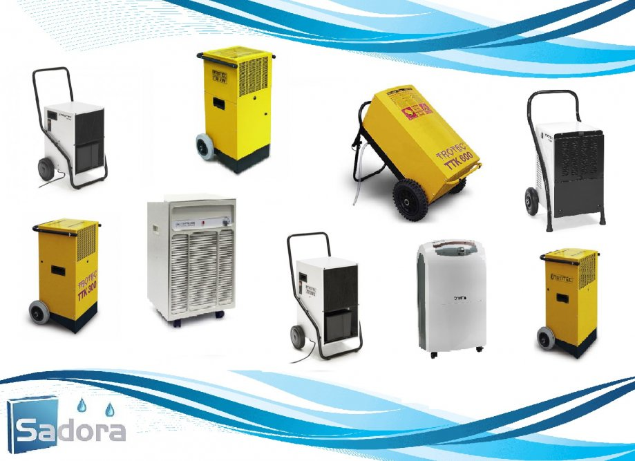 Građevinsko isušivanje vlage, odvlaživači zraka, isušivači zraka,najam