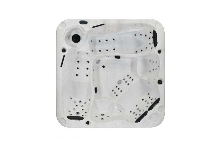 Masažni bazen, SPA ORION – 235x235x92 cm – za 6 osoba – Budget serija