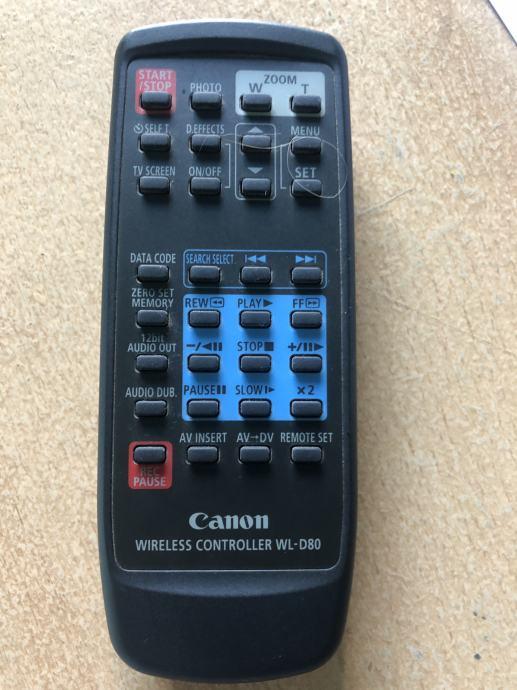 Canon WL-D80 daljinski upravljač za kameru