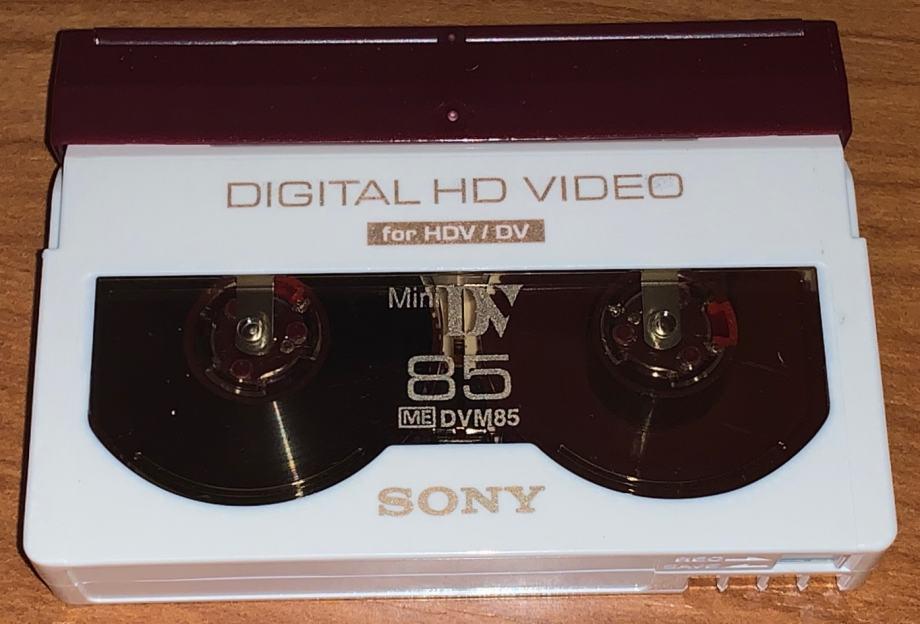 Mini DV HD video kasete SONY