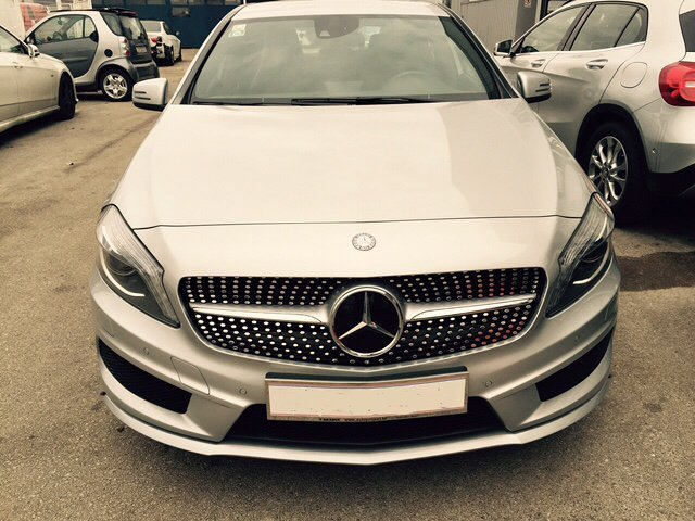 Mercedes A KLASA w 176 AMG 45 Design optik paket