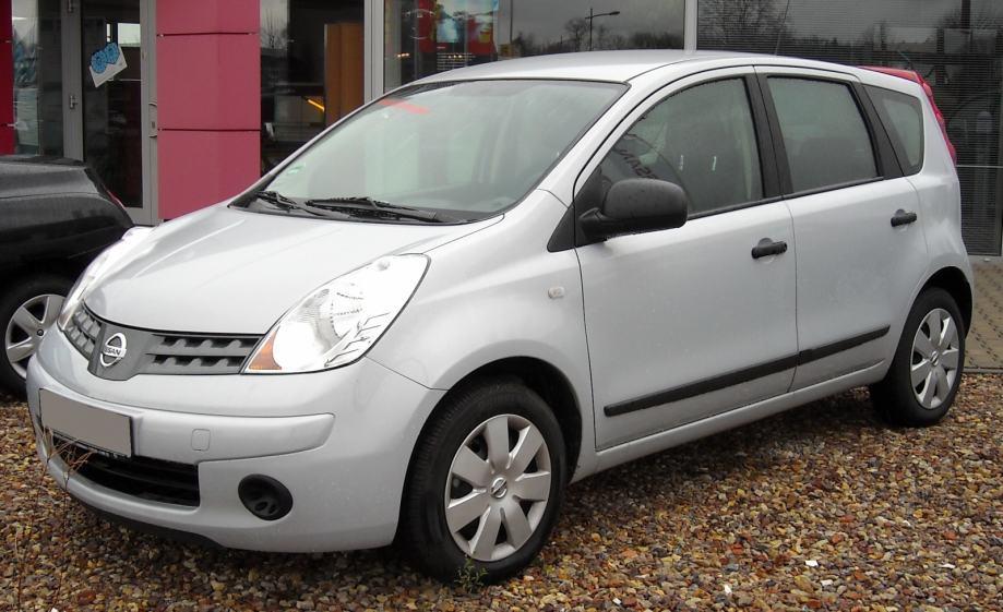 Nissan Note 2005-2009 godina - Rešetka branika