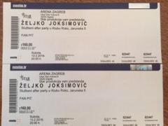 Karte Za Koncert Zeljko Joksimovic 13 02 Arena Zagreb