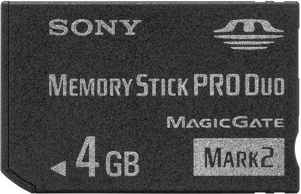 PRODAJEM Sony Memory Stick PRO DUO 4GB