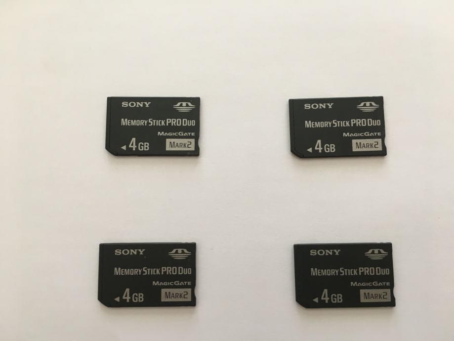 SONY Memory Stick Pro Duo kartica 4GB - novo!