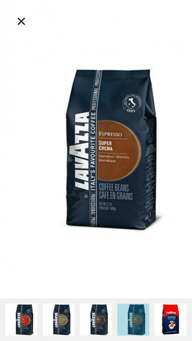 Lavazza kava u zrnu 1000g, DOSTUPNO ODMAH