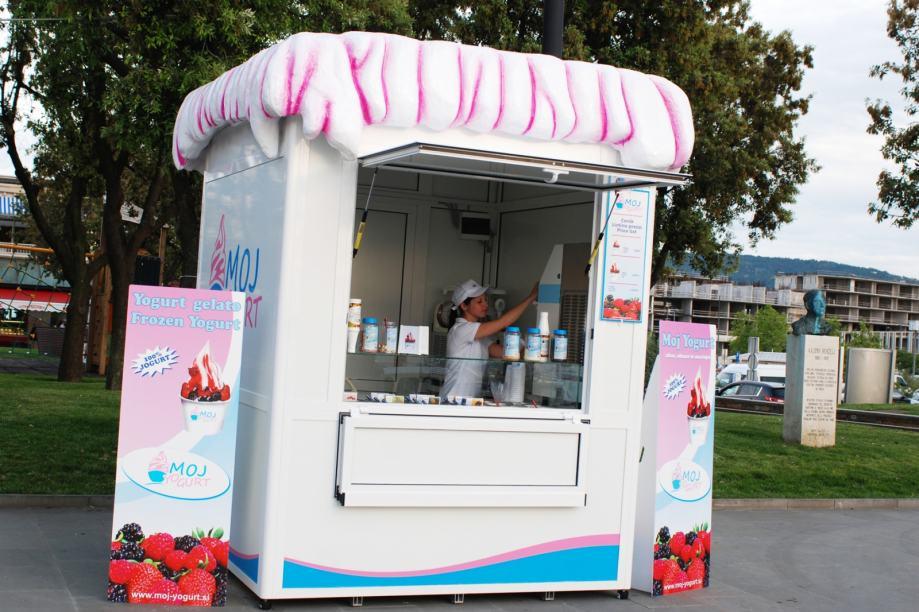 kiosk za sladoled