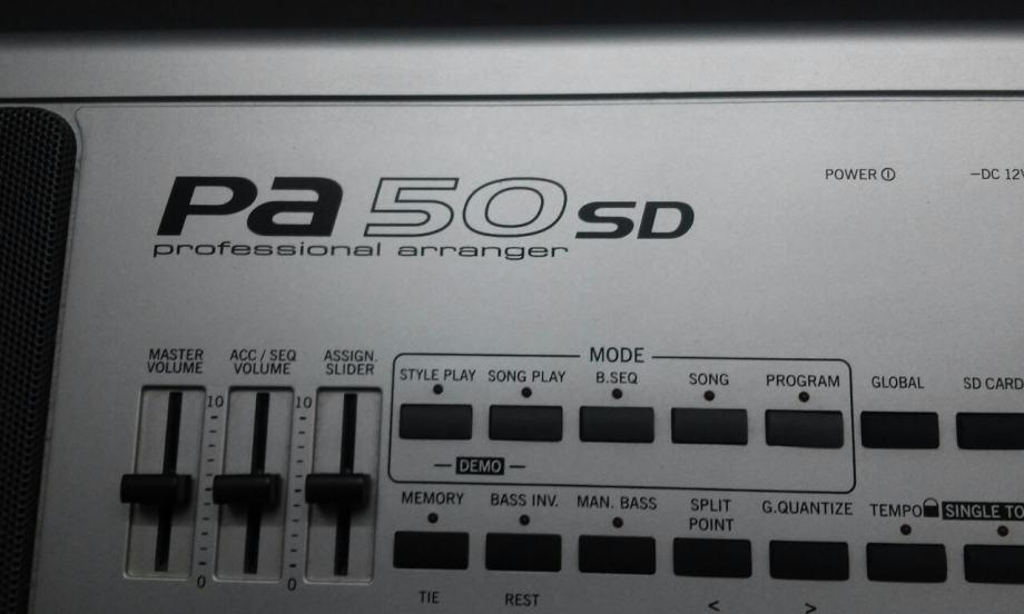 KORG Pa50SD for KONTAKT