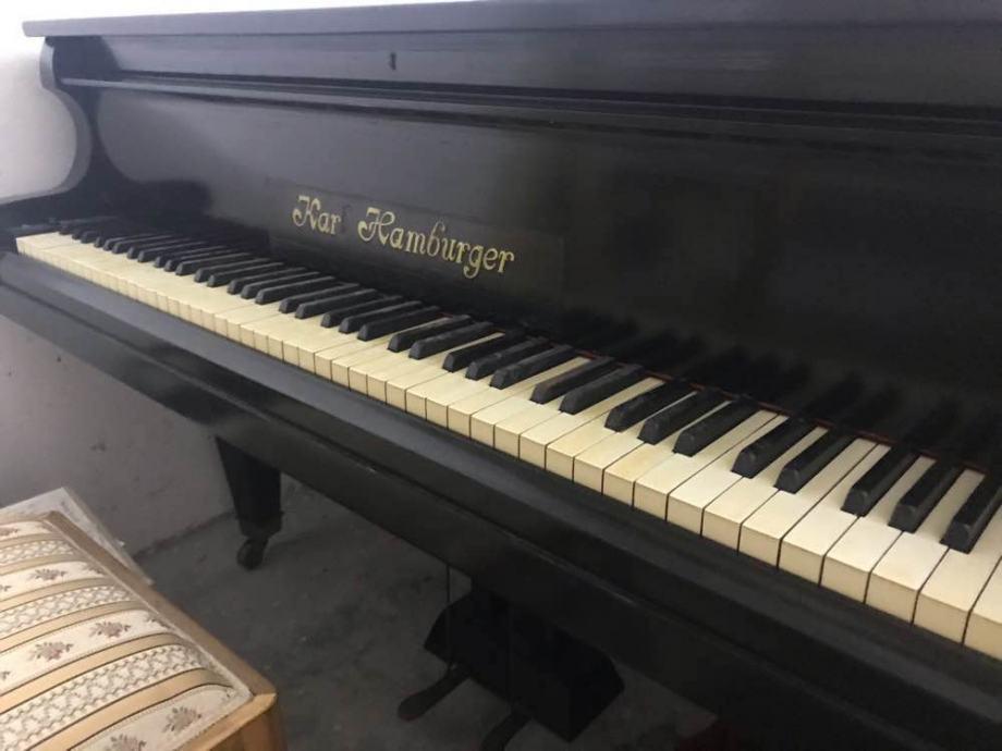 Prodajem polukoncertni klavir KARL HAMBURGER star preko 100 god