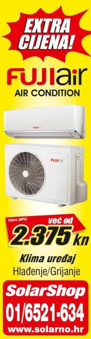 FUJI Air Klima uredjaji SAMURAI Akcija!!