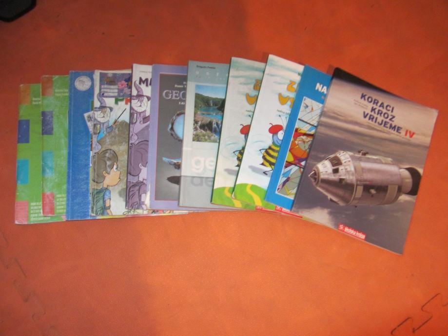 Knjige za 4. razred osnovne škole