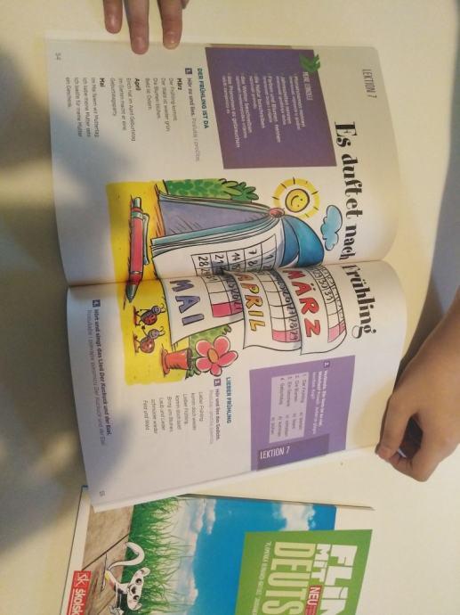 Knjige za učenje njemačkog i engleskog jezika