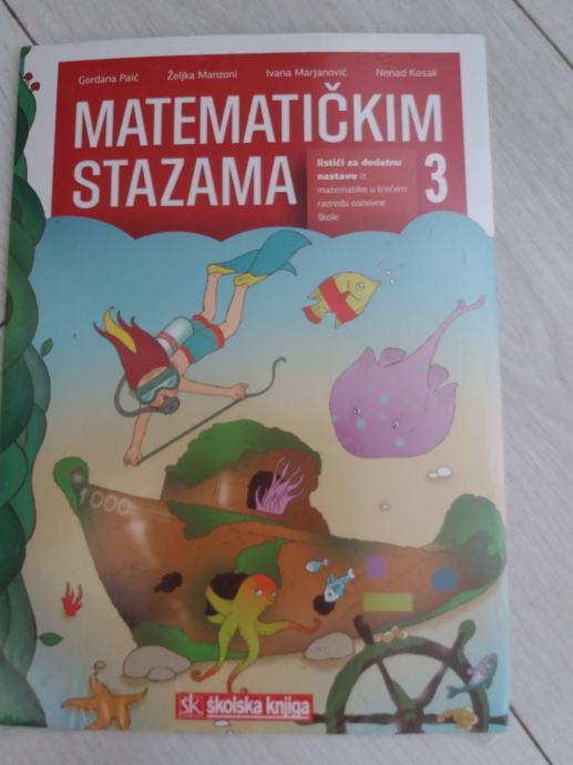 matematičkim stazama listići